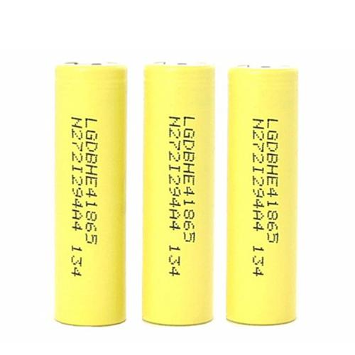 LG HE4 18650 35Amp 2500mAh Rechargeable Battery