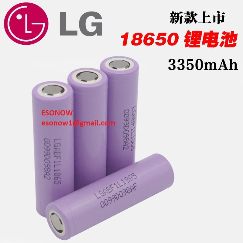 LG Lithium Ion Rechargeable Battery, LGABF1L1865, 3350mAh 3.7v, 1pc