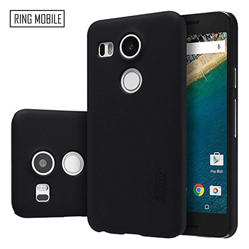 LG Nexus 5X Nillkin Super Frosted Shield Back Case - Black
