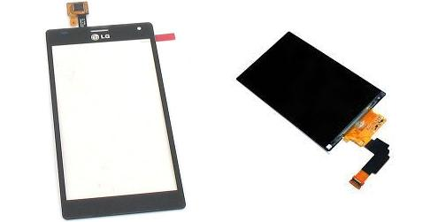 LG Optimus 4X HD P880 Display Lcd / Digitizer Lcd Touch Screen Glass