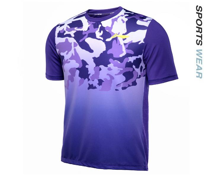 Li-Ning Men RN&#039 s TEE - Purple -ATSL399-3