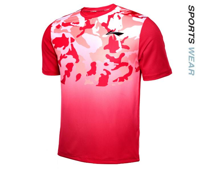 Li-Ning Men RN&#039 s TEE - Red -ATSL399-1