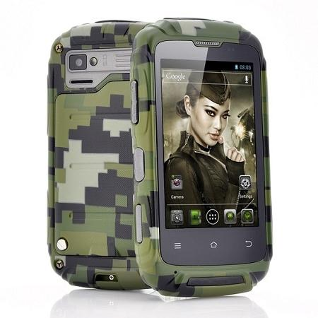 """Lieutenant"" Dual Core Rugged Mobile Phone (WP-T11)▼"