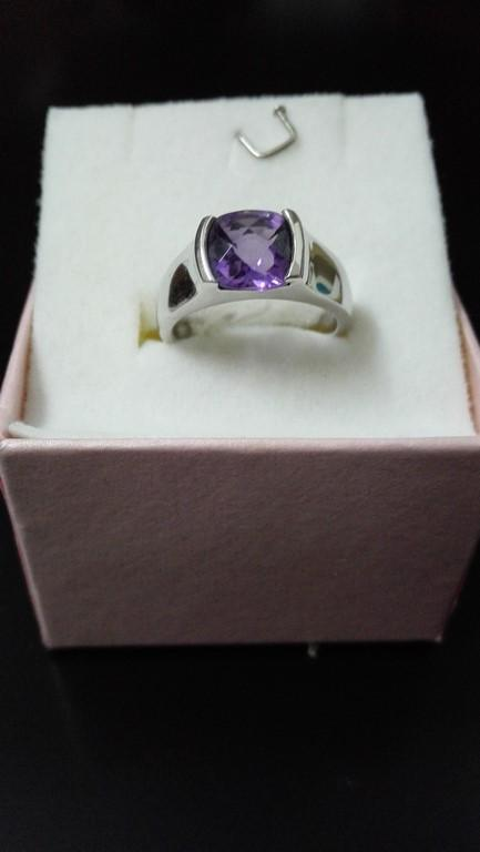 Limited Amethyst Silver Ring (FREE SHIPPING)-only size 12
