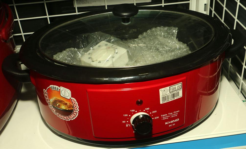 [Limited Stock Only] Khind MC55 Multi Cooker 5.5L (Red) - Free Timer