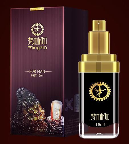 LINGAM DELAY SPRAY FOR MEN 15ml (India God Oil) Prolong Delay