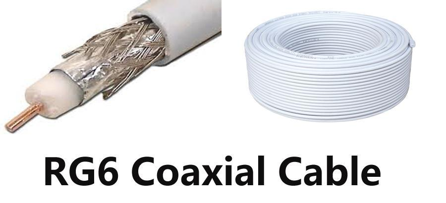 All Link All-link A112PE Jelly Filled RG6 Coaxial Cable Copper 1.0mm 5