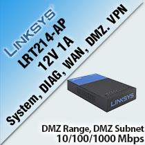 LINKSYS LRT214-AP BUSINESS GIGABIT VPN ROUTER