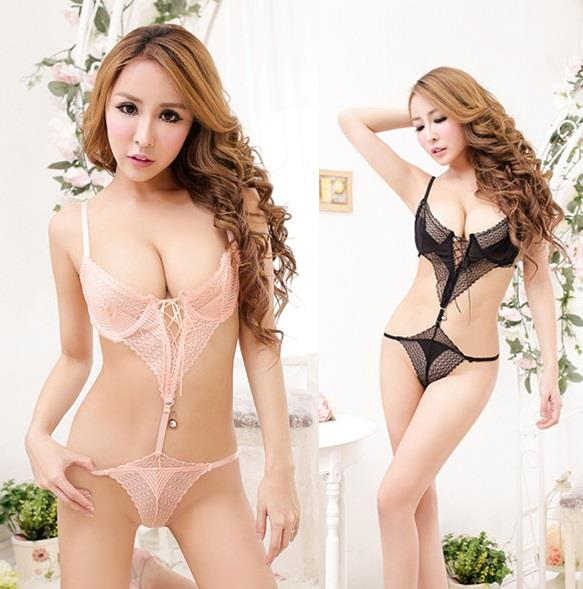 LM9013 Sexy Teddy Lingerie Nightwear Babydoll Fits XL Size (2 Colors)