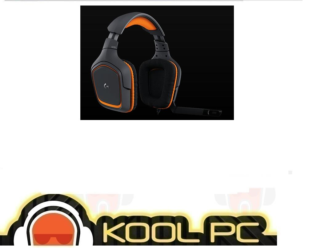 Logitech G231 Prodigy Gaming Headset with Mic