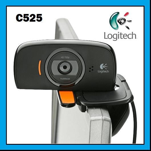 LOGITECH HD WEBCAM C525 With Auto Focus & Face Tracking