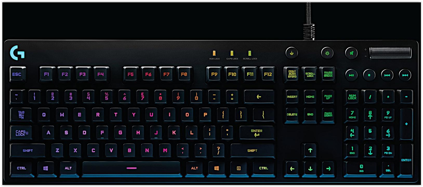LOGITECH WIRED GAMING KEYBOARD G810 ORION SPECTRUM (920-007757)