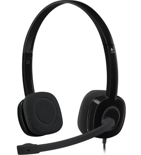 LOGITECH WIRED HEADSET (H151)