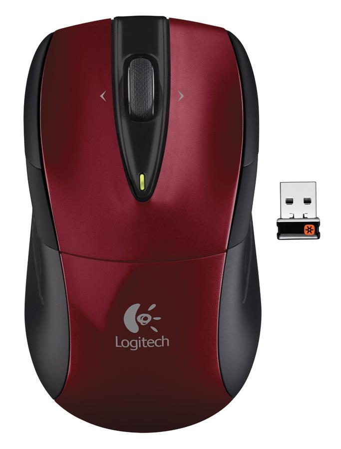 LOGITECH Wireless Mouse M525 - Red- AP (Old Packing)