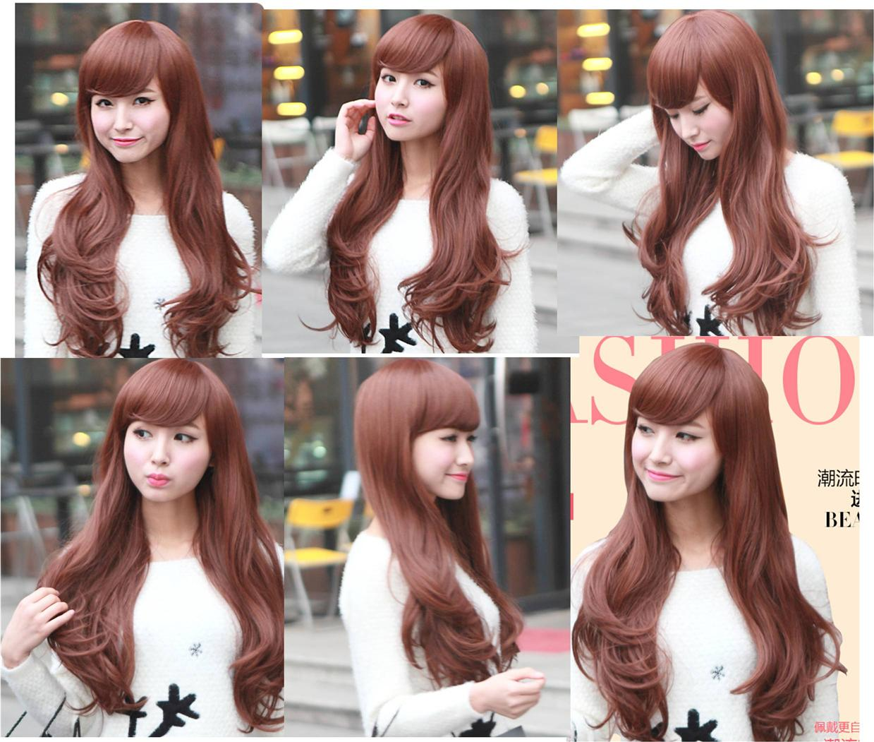 Long curve wig* Nov4 ready stock-rambut palsu