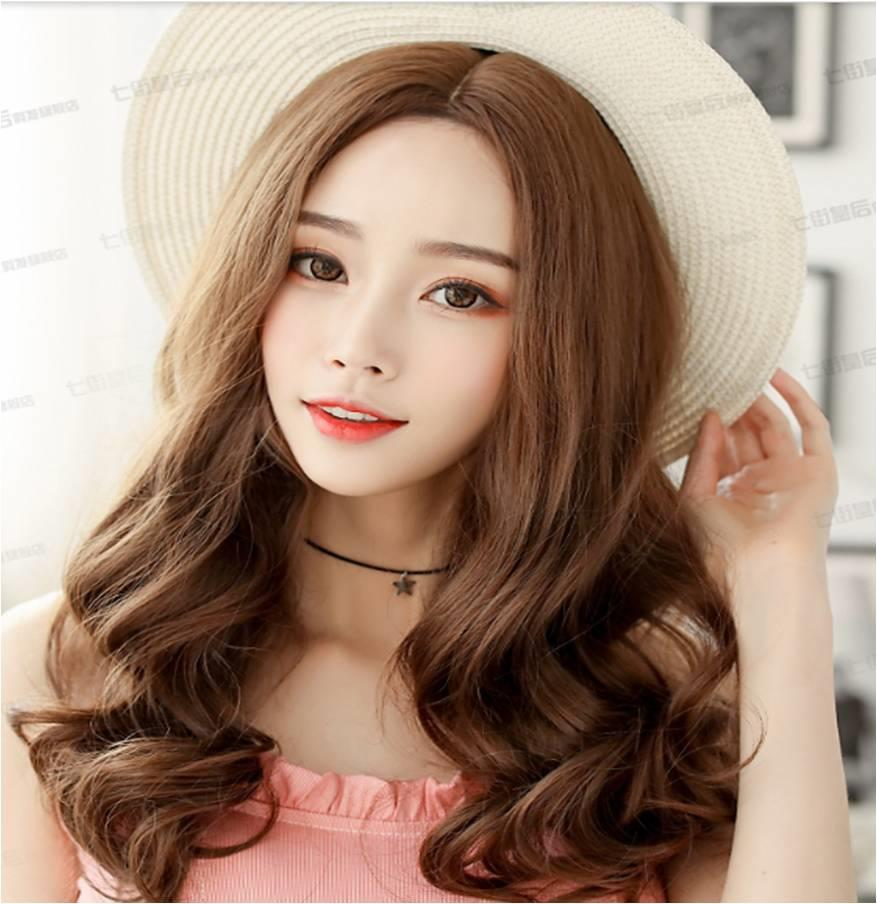 Long Curve Wig P23/ good quality/ rambut palsu/ ready stock