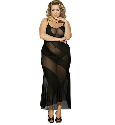 long dress womens lingerie (XL)