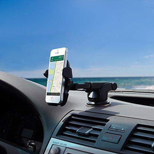 Long Neck Easy One Touch Car Mount Holder for iPhone 6s Plus 6s 5s 5c
