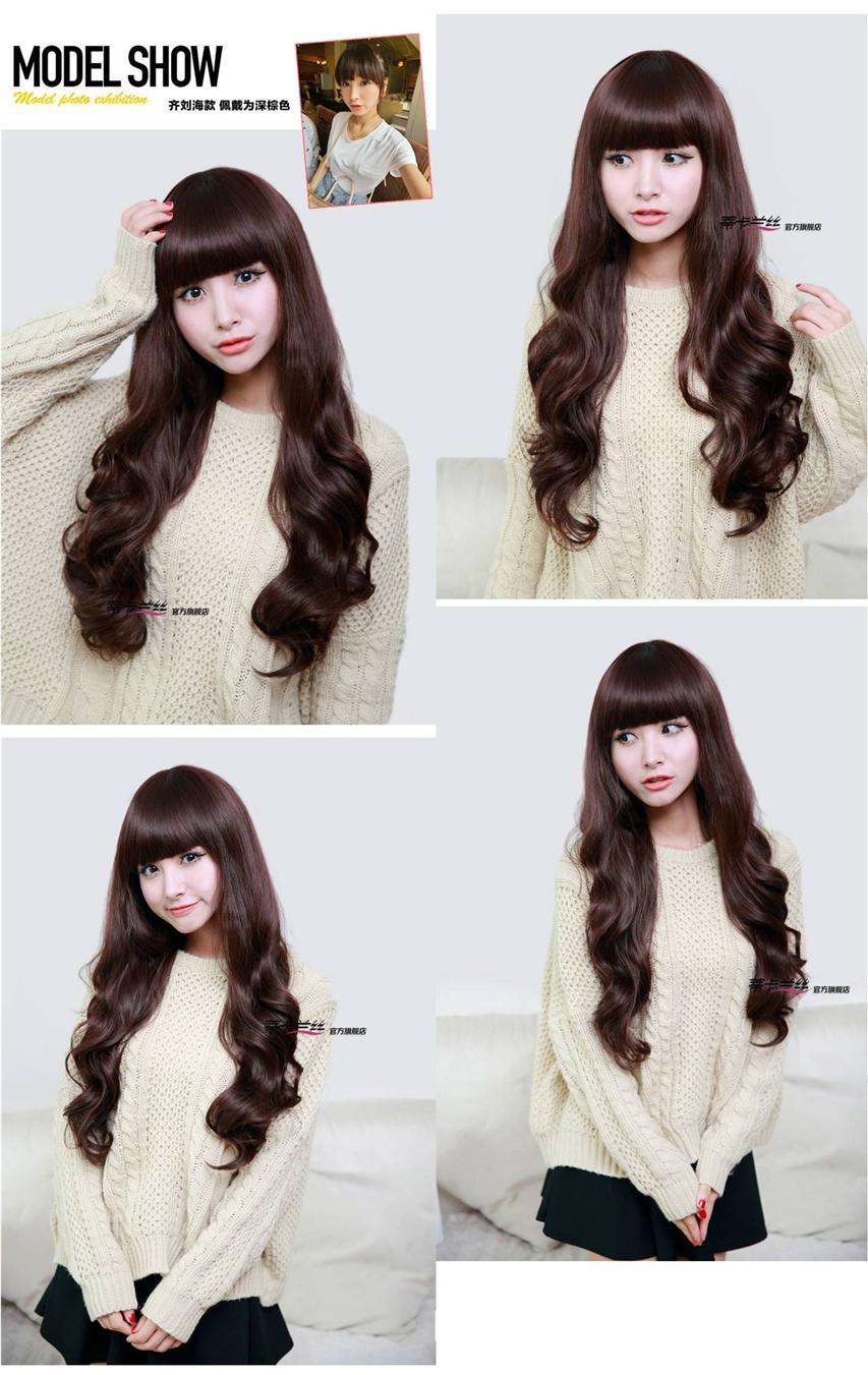Long wig*F32 ready stock-rambut palsu /promotion deal