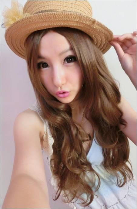 Long wig*H1ready stock-rambut palsu