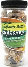 Love Earth Organic Sunflower Seeds Crackers, 100g