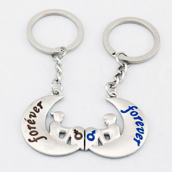 Love You Forever Lover Couple Key Chain Keychain K99