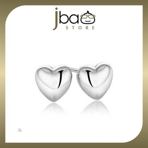Love Shaped Earrings 925 Sterling Silver Earring Studs Birthday Gift