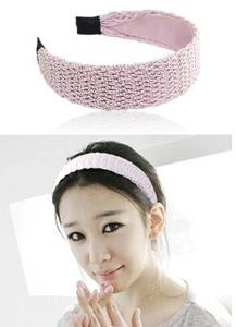 Lovely Knit Thick Hair Band