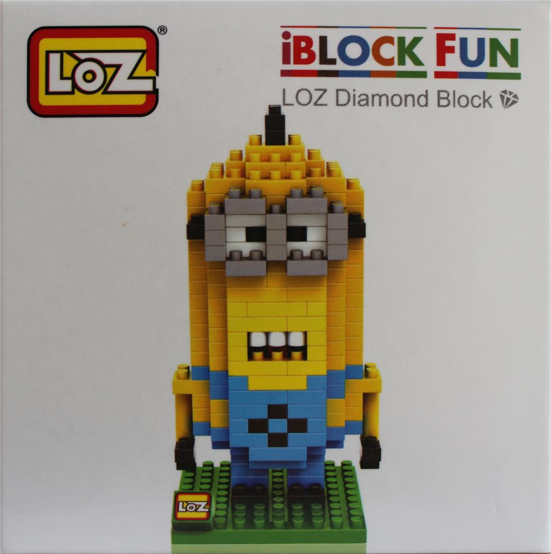 LOZ Diamond Block | iBLOCK FUN | MINION