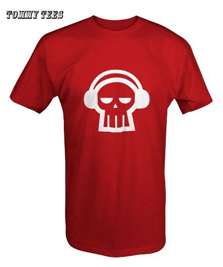 LSD RADIO GHOST T SHIRT WHITE/BLACK/RED (T83)