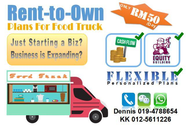 &ltRENT-to-OWN&gt Food Truck Mobile Kitchen