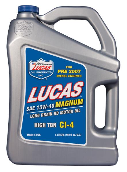 LUCAS ENGINE OIL SEMI SYNTHETIC 15W40 MAGNUM 4L PETROL/DIESEL