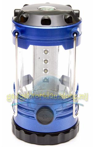 Luxeon 12 LED Dimmable Camping Light Lantern *Uses 3xAA Battery*