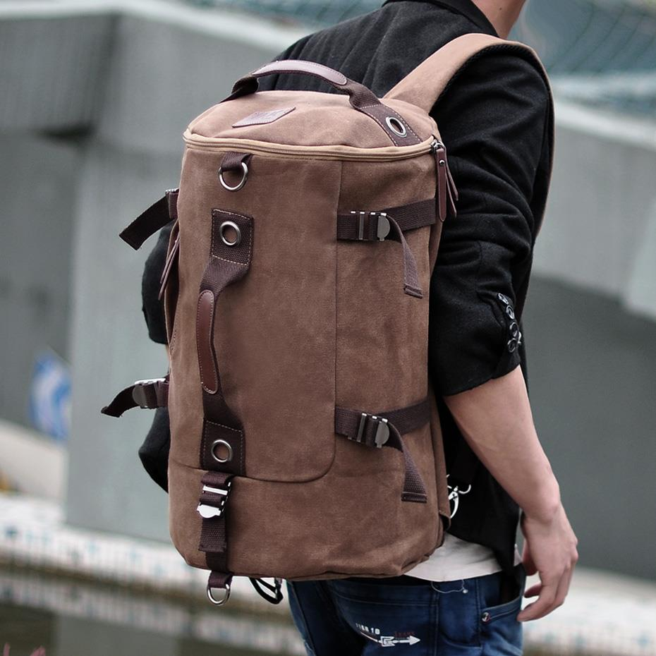 MABLE FASHION ETON WEAG Canvas Outdoor Travel Shoulder Backpack