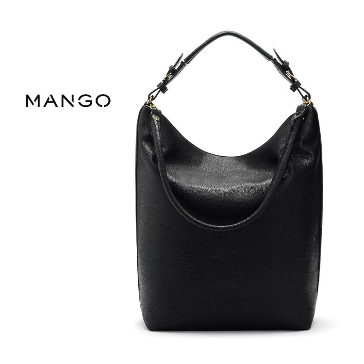 MABLE FASHION MNG Mango Crescent Big Shoulder Handbag