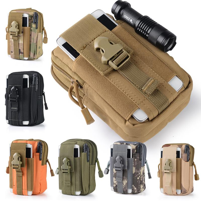 MABLE FASHION Tactical Multifunction Pockets Outdoor Wear Bag