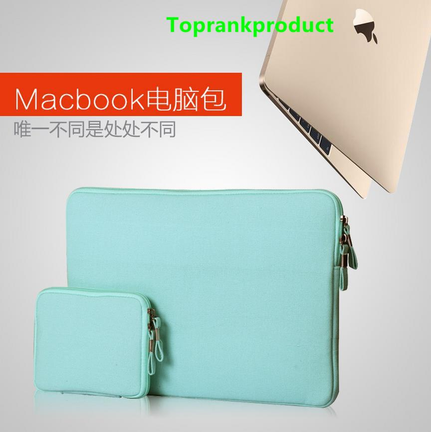 MacBook Air Retina 11.6 12 13.3 15 Pro Canvas Bag Case Cover Casing