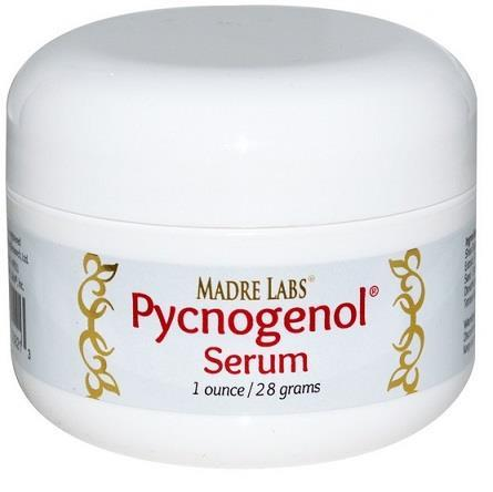 Madre Labs, Pycnogenol Serum (Cream), 1 oz (28 g) Made In USA