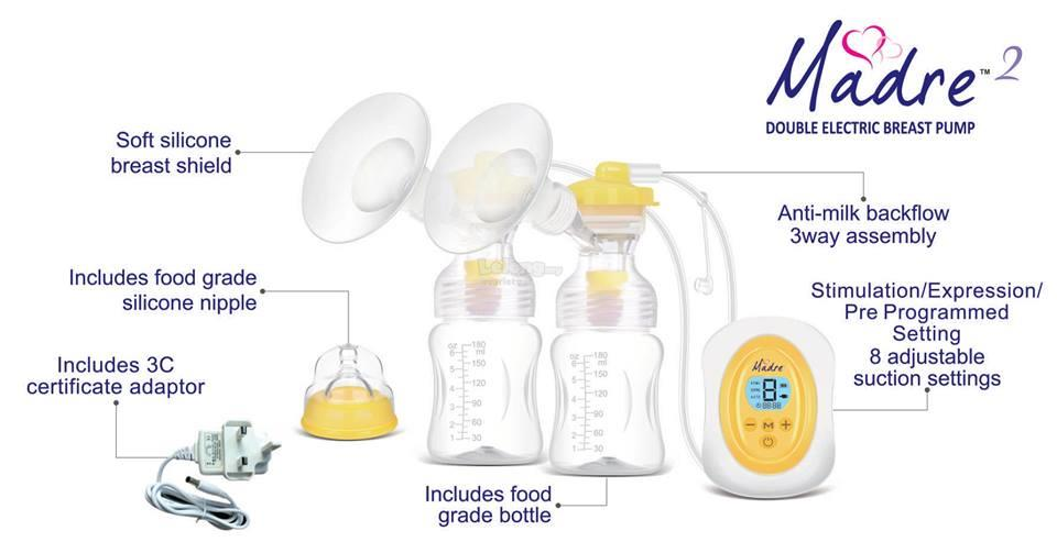 Madre2 Double Electric Breastpump