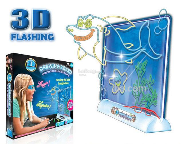 Magic 3D drawing Board Educational Toys