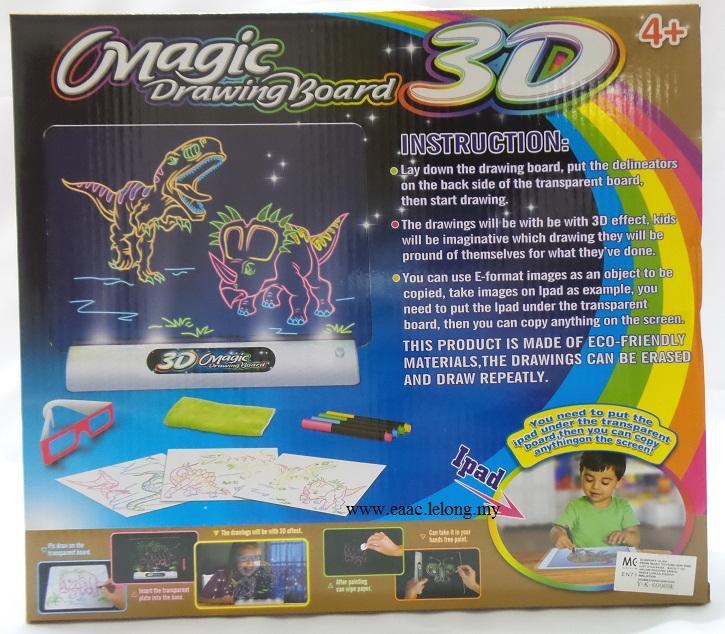 Magic 3D Drawing Board - A toy for kids