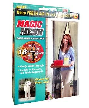 Magic Mesh Door Screen Magnetic Anti Mosquito Mesh