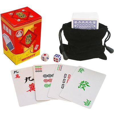 Mahjong Playing Cards Travel Pack
