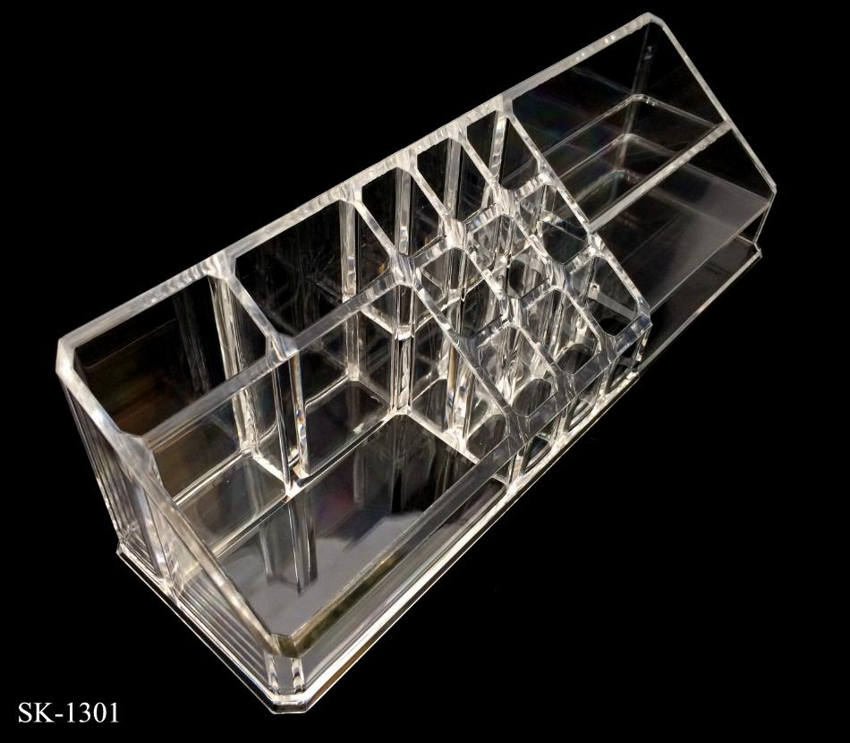 Makeup Drawers Cosmetic Organizer Display Box Acrylic Clear Cabinet Ca