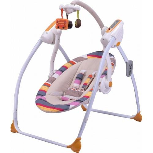 Mamalove 6-Speeds Musical Baby Swing (From Birth)