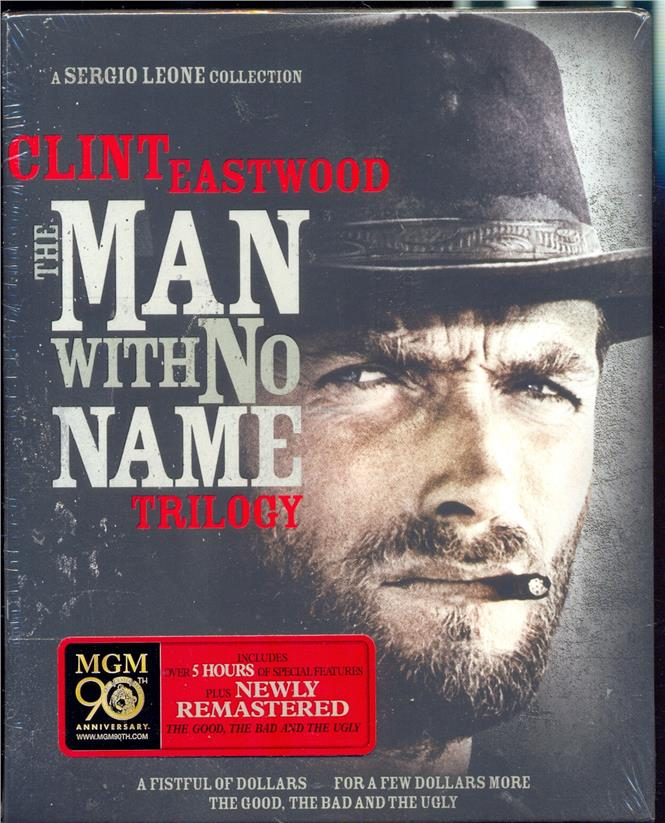 The Man With No Name Trilogy - New Box Set Blu-Ray