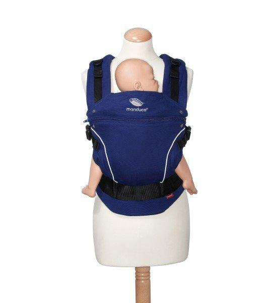 Manduca Pure Cotton Royal Blue Carrier 100% Organic 3 Yrs Warranty