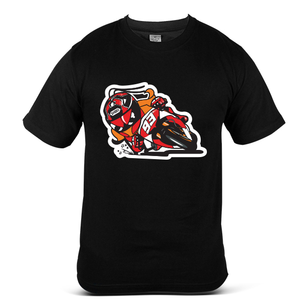 MARC MARQUEZ 93 Sports Racing Motorcycle Rider Professional T-Shirt 8