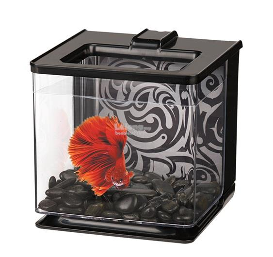 Marina Betta EZ Care Aquarium - Black - 2.5 L