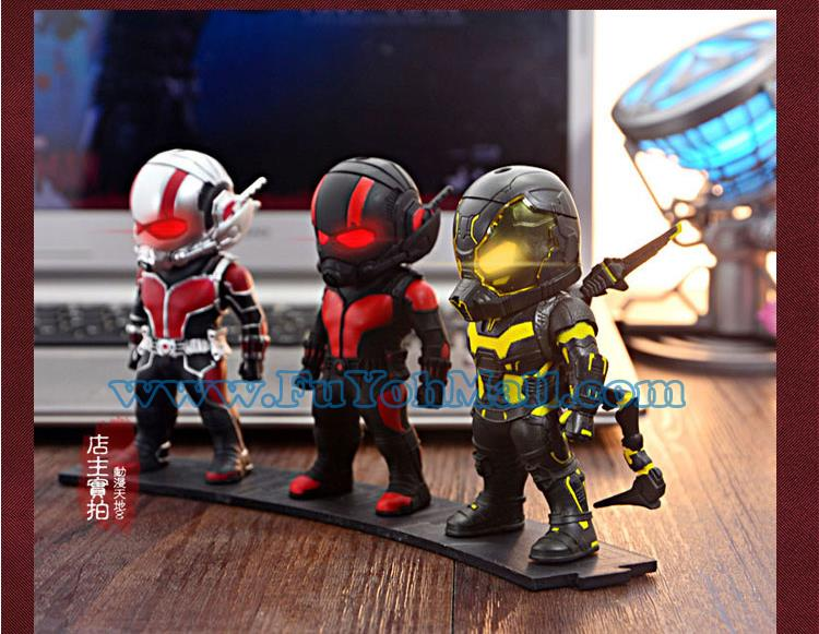Marvel Avengers ANT MAN 3pcs High Quality Model